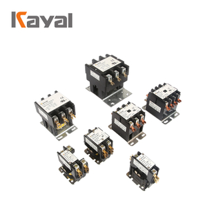 Hot Selling Air Conditioning Magnetic Contactor 24-240V AC Contactor CJX9 1P 2P 3P 4P